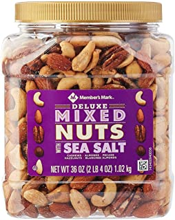 Deluxe Roasted Mixed Nuts with Sea Salt 2 pack by 34 oz