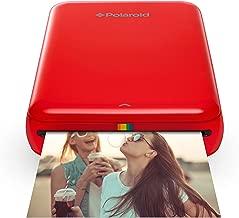 Polaroid ZIP Wireless Mobile Photo Mini Printer (Red) Compatible w/ iOS & Android,..