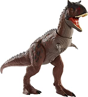 Jurassic World Control 'N Conquer Carnotaurus Toro Large Dinosaur GNL07, multicolour