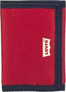 Levi`s Men`s RFID Security Blocking Nylon Trifold Wallet
