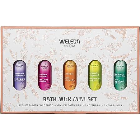 WELEDA(ヴェレダ) バスミルク ミニセット 入浴剤 5つの香り 20ミリリットル (x 5)