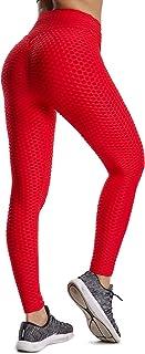 Leggings de Sport Anti-Cellulite Femme Pantalon de Fitness Collant de Compression Taille..