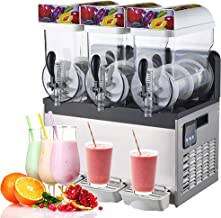 Yu Liao Machine de Fabrication de granités de crème glacée Robuste, Machine de Fabrication de Smoothies de Boissons surgel...