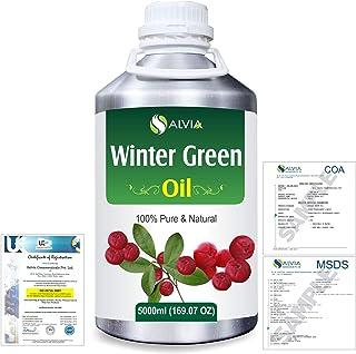 Winter Green(Gaultheria Procumbens) 100% Natural Pure Essential Oil 5000ml/169fl.oz.