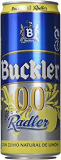 Buckler 00 Radler Limon Cerveza - Caja de 24 latas x 330 ml