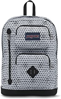 JanSport Austin Backpack- Sale Colors (White Urban Optical)