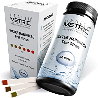 Premium Water Hardness Test Kit – Quick and Easy Hard Water Test Strips for Water..