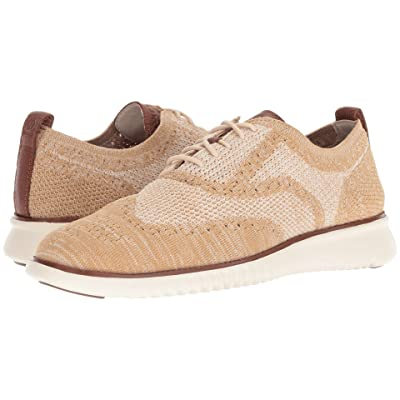 Cole Haan 2.Zerogrand Stitchlite Oxford (Brazilian Sand/Iced Coffee/Woodbury/Ivory) Men