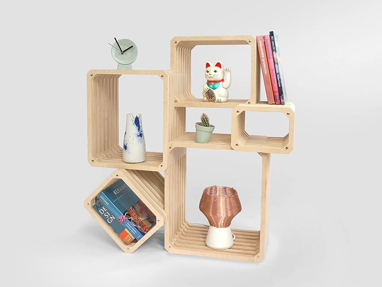 Parallel Shelving - furniture saving hallway book-case book-shelf bed-room accessories unit-s cube-s storage space for wooden shelf cabinet shelves saver