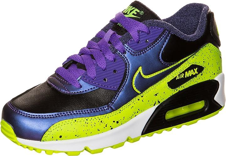 Nike Sneaker Air Max 90 Fb (GS) Viola/Giallo EU 39 (US 6.5Y ...
