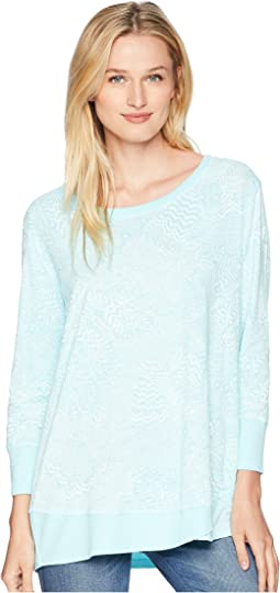 White Tides Emily 3/4 Sleeve Top