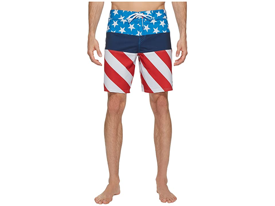 Billabong Tribong X Boardshorts (Red/Blue) Men