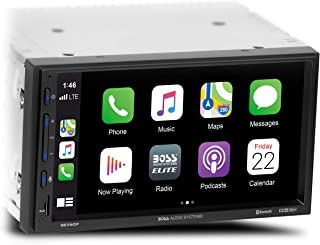 BOSS Audio Systems Elite BE7ACP Car Multimedia Player with Apple CarPlay Android Auto - 7 Inch LCD Capacitive Touchscreen,...