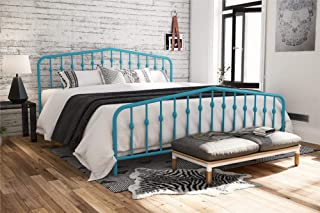 Novogratz Bushwick Bed, King, Blue