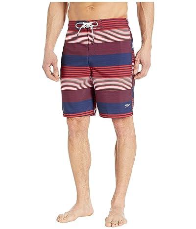 Speedo Borderline Boardshorts 20 (Red/White/Blue) Men