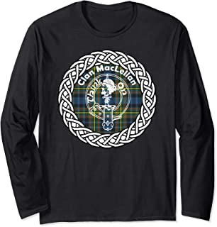 Maclellan surname last name Scottish Clan tartan badge crest Long Sleeve T-Shirt