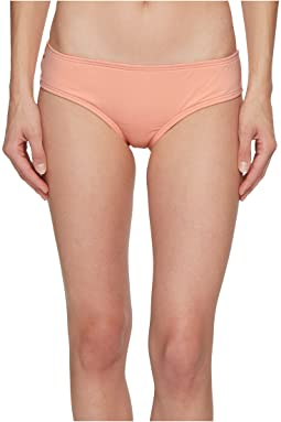 Vince Camuto - Sea Scallops Shirred Smooth Fit Cheeky Bikini Bottoms