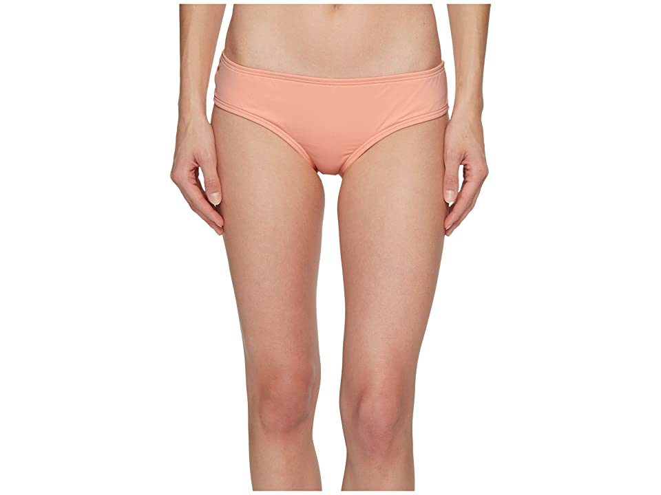 Vince Camuto Sea Scallops Shirred Smooth Fit Cheeky Bikini Bottoms (Penoy) Women