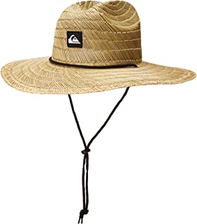 Men's Pierside Lifeguard Beach Sun Straw Hat