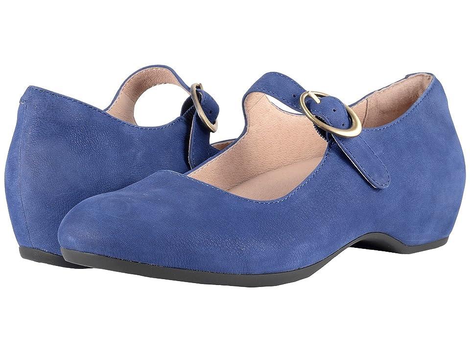 Dansko Linette (Blue Milled Nubuck) Women