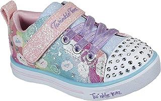 Unisex-Child Sparkle Lite-Rainbow Shines Sneaker