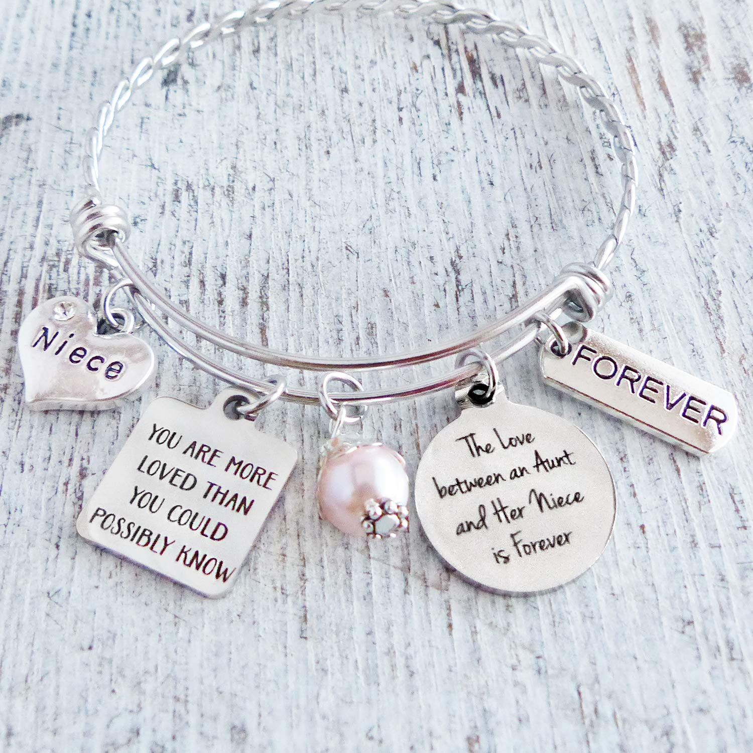 unisex Niece Department store Gifts from Aunt The Love an Her and Between is