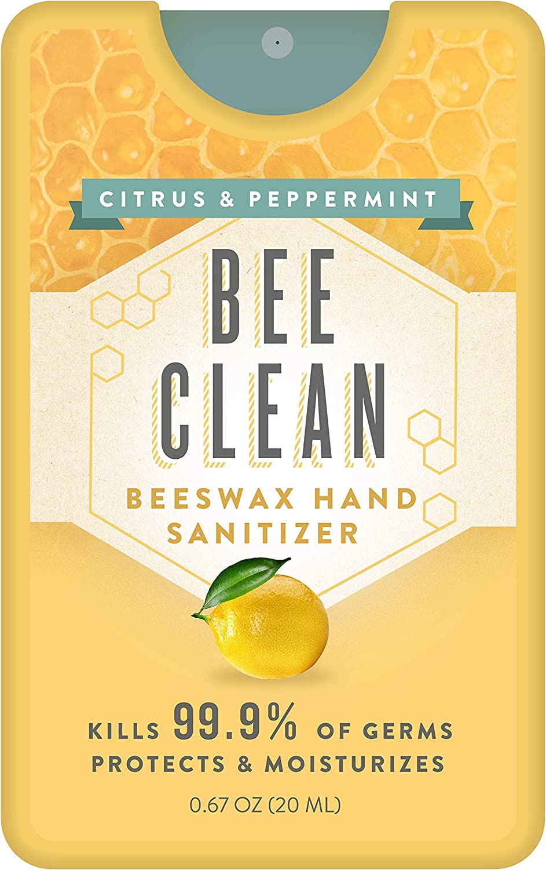 BeeClean Natural 商舗 Beeswax Hand 買収 Sanitizer 12-Pack