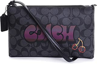 Coach Signature Graffiti Large Wristlet