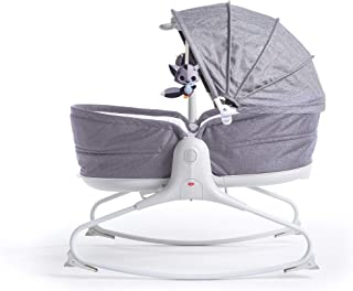TINY LOVE Baby Cozy Rocker Napper, Heather Grey