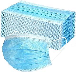 comprar comparacion Desechable Tejido no Tejido Antibacteriana de 3 Capas 50 Piezas (Azul)