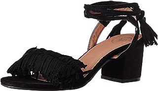 Red Pout Women's Black Fashion Sandals