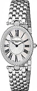 Women's FC200MPW2VD6B Art Deco Diamond-Accented Stainless Steel Watch