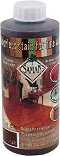 SamaN Interior Water Based Stain for Fine Wood, Rosewood, 12 oz