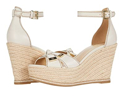 MICHAEL Michael Kors Ripley Wedge (Light Cream) Women