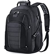 Laptop Backpack, Extra Large 17 Inch Business Travel Backpack with USB Charging Port Earphone...