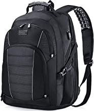 Laptop Backpack, Extra Large 17 Inch Business Travel Backpack with USB Charging Port Earphone Hole, Durable Water Resistan...