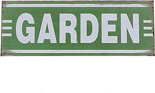 """Barnyard Designs Garden Retro Vintage Tin Bar Sign Country Home Decor 13.75"""" x 5"""""""