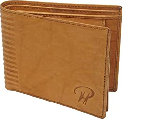 Men Leather Wallet Card Case Special Slots for Cards And Coins Made Of Genuine Leather For Tough Use. (Style 14)