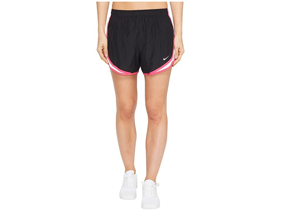 Nike Dry Tempo Short (Black/White/Vivid Pink/Wolf Grey) Women