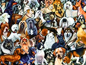 product image for Dog World 300 pc Jigsaw Puzzle by SunsOut