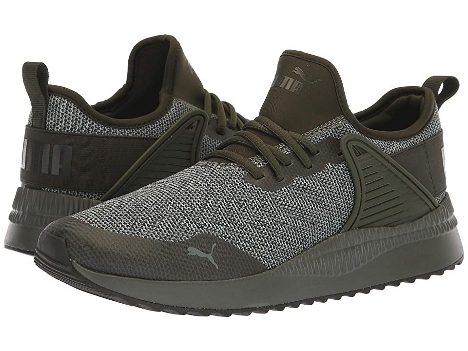 PUMA Pacer Next Cage Knit (Forest Night/Forest Night/Laurel Wreath) Men