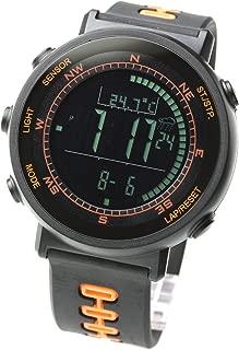 Swiss Sensor Watch - Digital Compass, Altimeter, Weather Monitors, Barometer, and Stopwatch