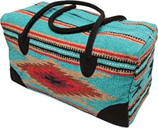 El Paso Designs Southwest Duffel Bag- Camino Real Native American and Mexican Style Jumbo Large Travel Bags (Cancun)