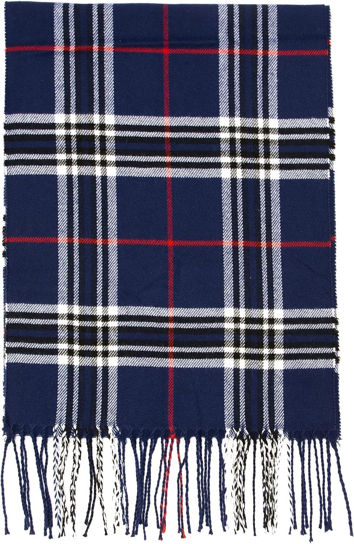 100% acrylic Tartan Scarves Shawls and Wraps Cashmere Feel Scarf