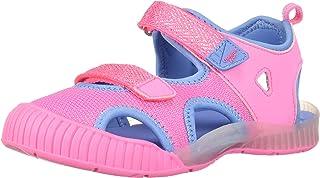 OshKosh B'Gosh Unisex-kids Zap Light-up Athletic Sandal