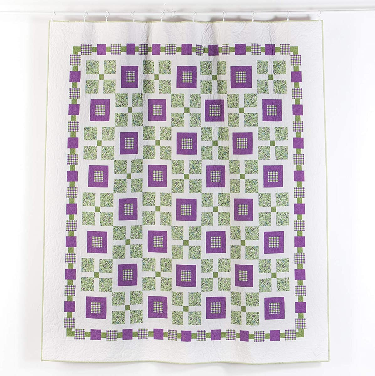 Connecting Threads Full/Queen Quilt Kit (Checkers)