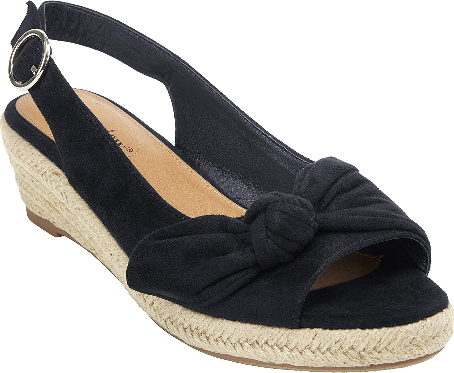 Comfortview Max 77% OFF Women's Wide Width The Espadrille NEW before selling ☆ Zanea