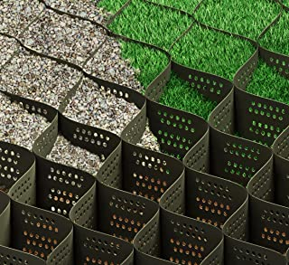 Standartpark 8 inch thick geo grid ground grid polyethylene 1885 lbs per sq inch tensile strength