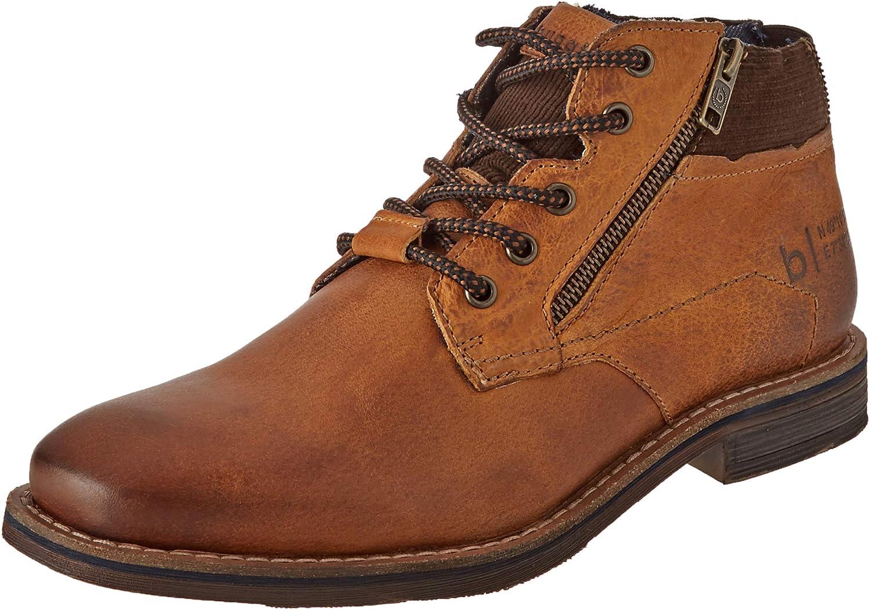 bugatti Men's 321A08322200 Oxford Boot, Cognac, 6 UK