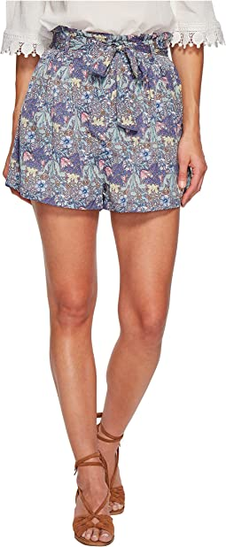 Bishop + Young - Printed Paperbag Shorts